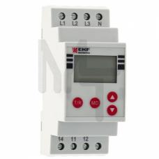 Реле контроля фаз с LCD дисплеем (с нейтралью) RKF-2S EKF PROxima rkf-2s
