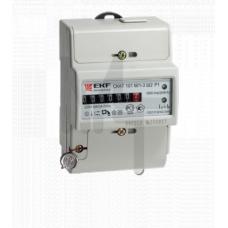 Счетчик электрической энергии СКАТ 101М/1 - 5(60) Ш Р EKF PROxima 10103P
