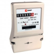 Счетчик электрической энергии СКАТ 102М/1 - 5(60) Ш П EKF PROxima 10204P