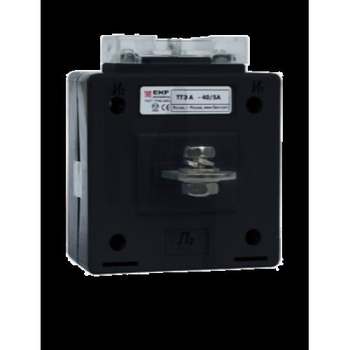 Трансформатор тока ТТЭ-А-200/5А класс точности 0,5S EKF PROxima tte-a-200-0.5S