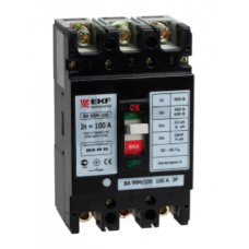 Выключатель автоматический ВА-99М  100/ 80А 3P 35кА EKF PROxima mccb99-100-80m