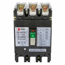 Выключатель автоматический ВА-99М  250/125А 3P 35кА EKF PROxima mccb99-250-125m