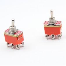 Выключатель-тумблер 1322 вкл-откл-вкл 2 группы контактов (20шт/упак) ЭНЕРГИЯ Е1103-0006