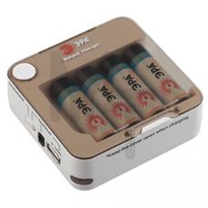 Зарядное устройство ЭРА C-514 Output Charger+4x2100mAh Instant C0038469