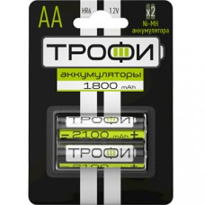 Аккумулятор ТРОФИ  HR6-2BL АА 2шт/бл 1800 mAh C0032098