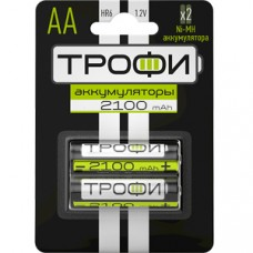 Аккумулятор ТРОФИ  HR6-2BL АА 2шт/бл 2100 mAh C0032099