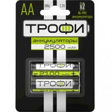 Аккумулятор ТРОФИ  HR6-2BL АА 2шт/бл 2500 mAh C0032101