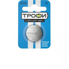 Батарейки Трофи CR2016-1BL 1шт/бл Б0003648
