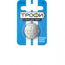 Батарейки Трофи CR2032-1BL 1шт/бл Б0003650
