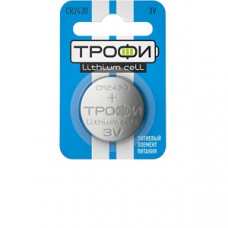 Батарейки Трофи CR2430-1BL 1шт/бл Б0003653
