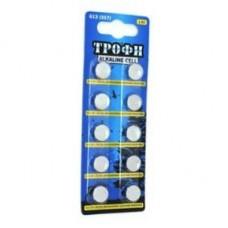 Батарейки Трофи G13 (357) LR1154, LR44 NEW 10шт/бл C0034935