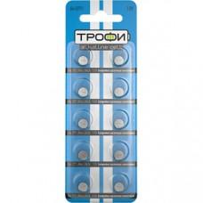 Батарейки Трофи G4 (377) LR626, LR66 NEW 10шт/бл C0034940