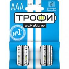 Батарейки Трофи LR03-4BL NEW C0034915