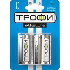 Батарейки Трофи LR14-2BL C 2шт/бл C0034932