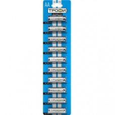 Батарейки Трофи LR6-10BL NEW C0034054
