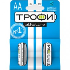 Батарейки Трофи LR6-2BL NEW C0034926