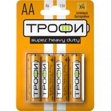 Батарейки Трофи R6-4BL NEW C0033716