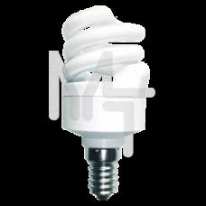 Лампа энергосберегающая ЭРА F-SP-7-827-E14  мягкий свет C0030770