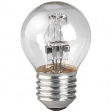 Лампа галогенная ЭРА Hal-P45-28W-230V-E27-CL С0038552