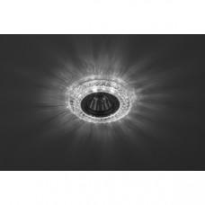 DK LD3 SL/WH Светильник ЭРА декор c белой светодиодной подсветкой, прозрачный Б0019202