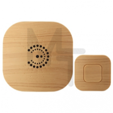 Звонок ЭРА BIONIC Bright wood беспроводной Б0018089