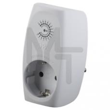 SF-1e-W Сетевой фильтр  ЭРА Сет.фильтр 1гн с заземл, со шт (белый) Б0027844
