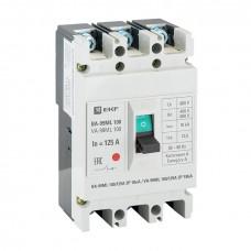 Автоматический выключатель ВА-99МL 100/125А 3P 18кА EKF mccb99-100-125mI