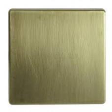 Накладка на мех. одноклавишного выкл. (проходной, с 3-х мест, кнопочн. выкл.), латунь , 82 Detail 82010-91