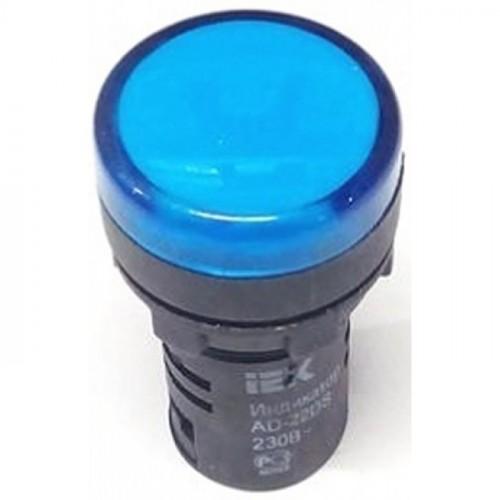 Лампа AD22DS(LED)матрица d22мм синий 230В  ИЭК BLS10-ADDS-230-K07