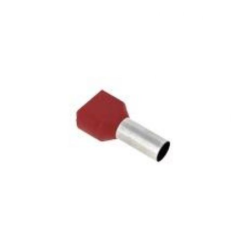 Наконечник штыревой втулочный изолированный НШвИ(2) 16,0-14 (50шт.) EKF PROxima nhvi2-16.0-14