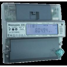 Счетчик Меркурий 236 ART-02 PQRS (3ф, ЖКИ, многотариф, на DIN) 1023052
