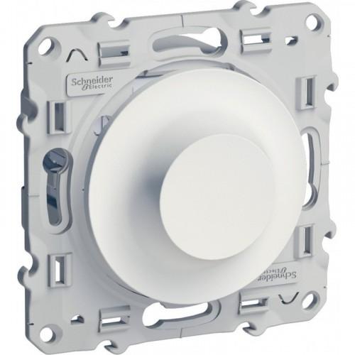 Odace Белый Светорегулятор поворотный 40-600 ВА Schnaider S52R511