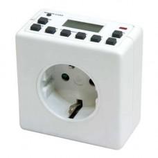 TM21 розетка с таймером (недельная) 3500W/16A 230V 23215