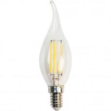 Лампа Gauss LED Filament Свеча на ветру E14 5W 420lm 2700K 1/10/50 104801105
