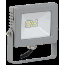 Прожектор СДО 07-10 светодиодный серый IP65 IEK LPDO701-10-K03