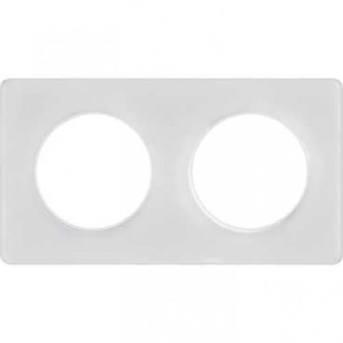 Odace Белый/Белый Рамка 2-я Schaider S52P804