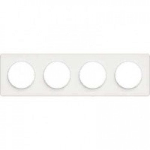 Odace Белый/Белый Рамка 4-я  Schnaider S52P808