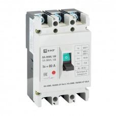 Автоматический выключатель ВА-99МL 100/80А 3P 18кА EKF mccb99-100-80mI