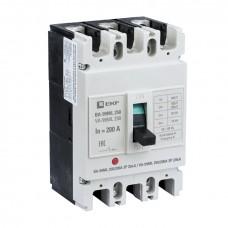 Автоматический выключатель ВА-99МL 250/200А 3P 20кА EKF mccb99-250-200mI