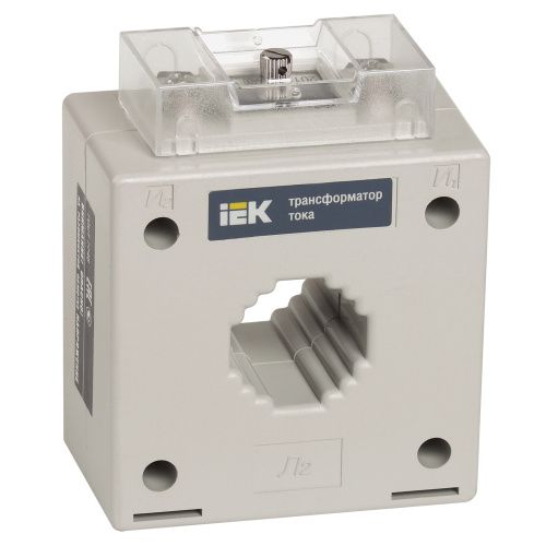 Трансформатор тока ТШП-0,66  400/5А  5ВА  класс 0,5S габарит 40  ИЭК ITB30-3-05-0400