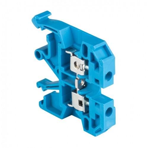 Колодка клеммная  JXB-2.5/35 синяя EKF PROxima plc-jxb-2.5/35b
