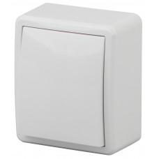11-1201-01 Выключатель, 10АХ-250В, ОУ, Эра Эксперт, белый  ЭРА Б0020653
