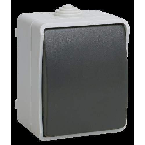ВСк20-1-0-ФСр Выключатель кнопочный для открытой установки ФОРС IP54 IEK EVS13-K03-10-54-DC