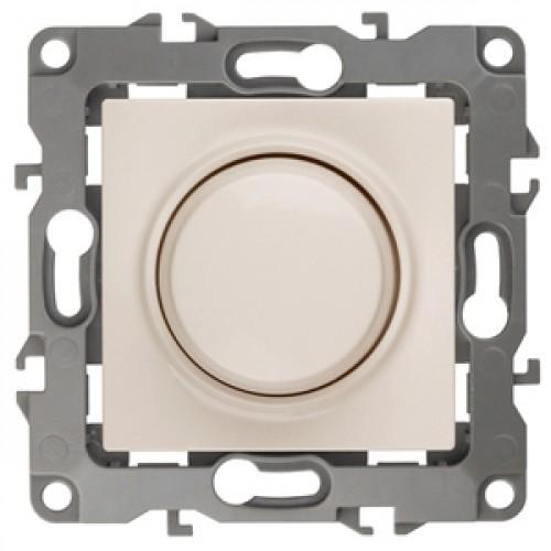 12-4101-02  ЭРА Светорегулятор поворотно-нажимной, 400ВА 230В, Эра12, слоновая кость Б0014736