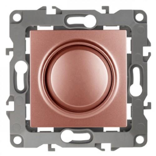 12-4101-14  ЭРА Светорегулятор поворотно-нажимной, 400ВА 230В, Эра12, медь Б0019364