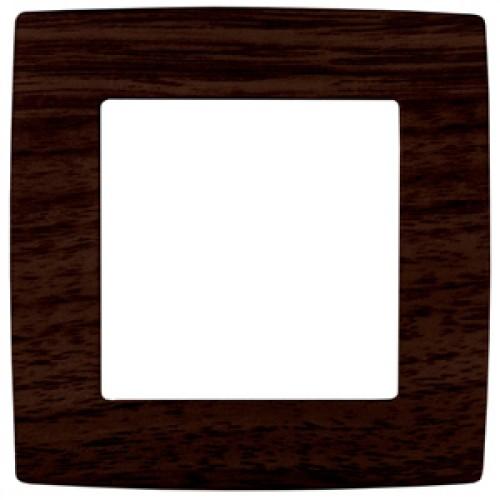 12-5001-10  ЭРА Рамка на 1 пост, Эра12, венге Б0014750