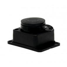 Розетка настенная с защитной крышкой каучуковая 230В 2P+PE 16A IP44 EKF PROxima RPS-014-16-230-44