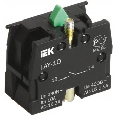Контактный блок 1р для серии LAY5 ИЭК BDK11