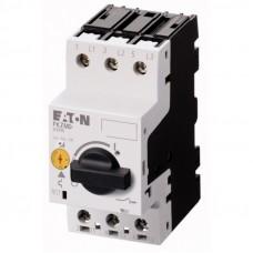 PKZM0-6,3 Автоматический выключатель защиты двигателя 6,3А, 3 полюса, откл.способность 150кА, диапазон уставки 4...6,3А 072738