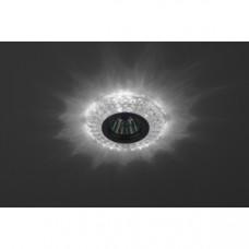 DK LD2 SL/WH Светильник ЭРА декор c белой светодиодной подсветкой, прозрачный Б0019197